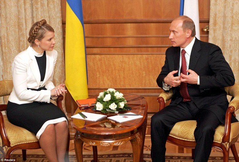 Yulia Tymoshenko and Putin